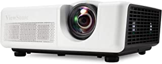 ViewSonic LS625W 3200 Lumens DLP WXGA Short Throw Projector with Horizontal and Vertical Keystone Correction and LAN Control (Certified Refurbished)