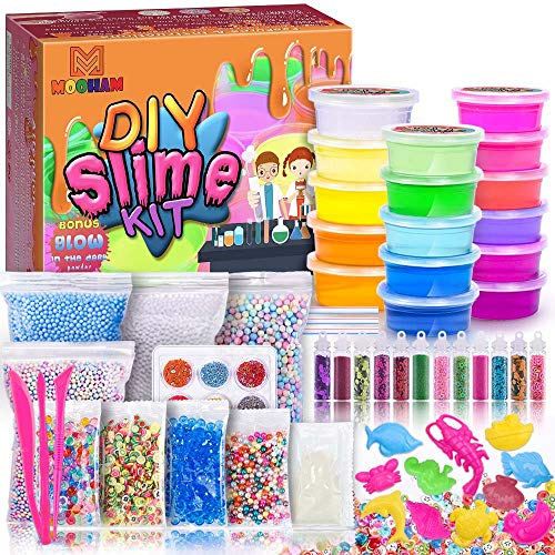 MOOHAM DIY Slime Kit Supplies...