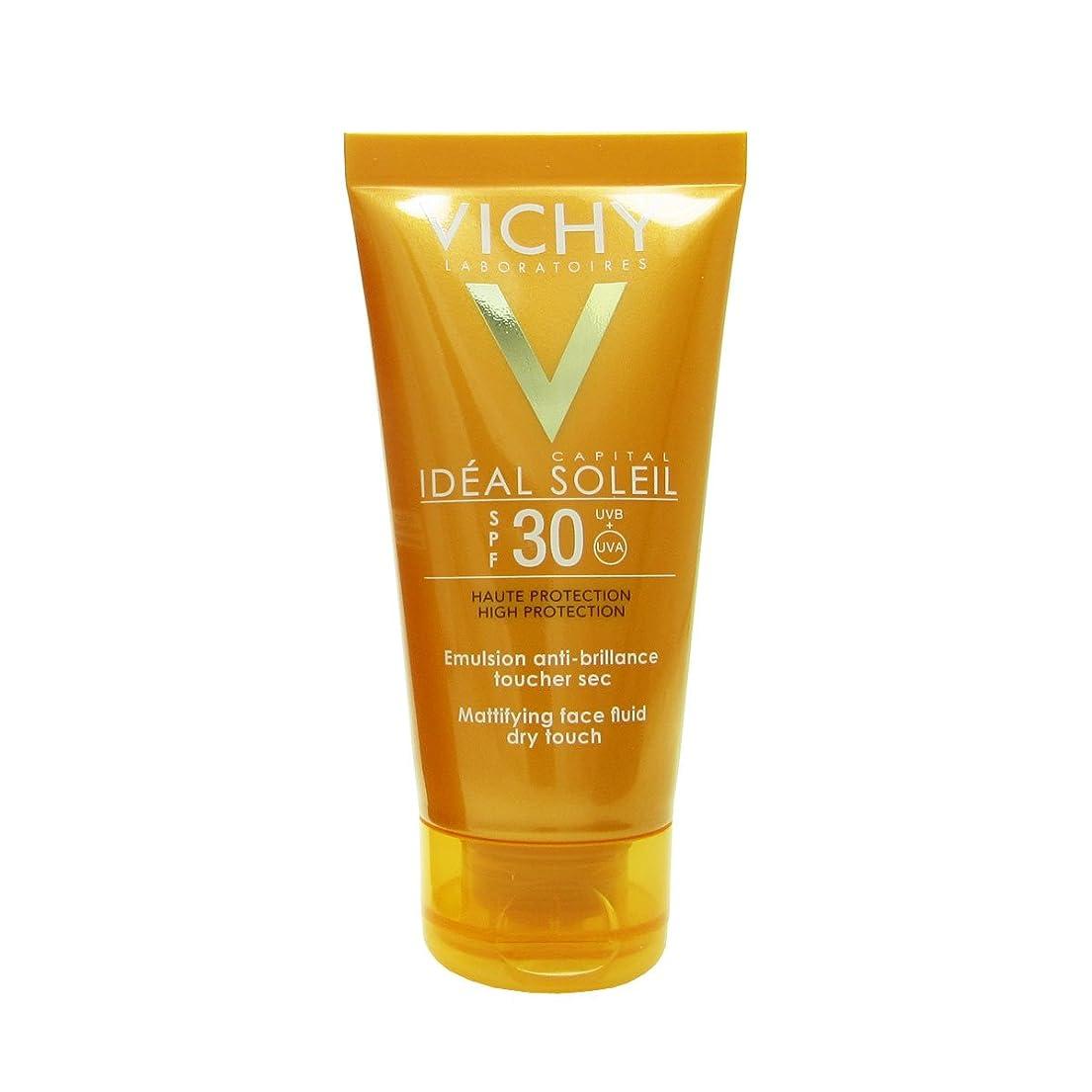 吐く攻撃二年生Vichy Capital Soleil Ideal Soleil Spf30 Dry Touch Fluid 50ml [並行輸入品]