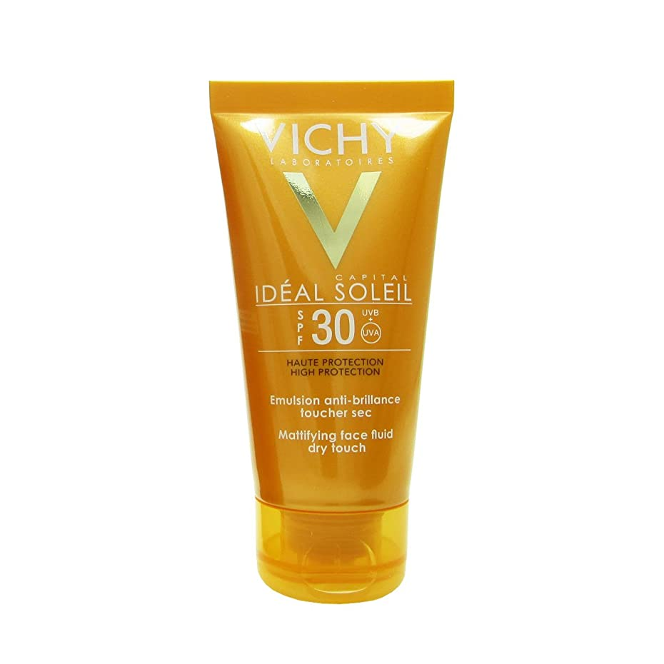銀無視する移行するVichy Capital Soleil Ideal Soleil Spf30 Dry Touch Fluid 50ml [並行輸入品]