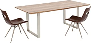 Kare Design Table Symphony Acacia Argent 160x80cm