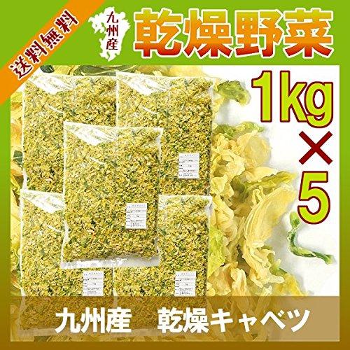九州産 乾燥キャベツ(1kg×5袋)