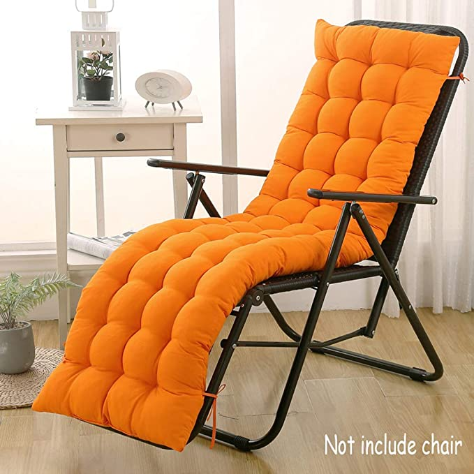 DUCHEN panchina sedia da giardino lettino da prendisole materasso Cuscino per sedia a sdraio pieghevole per interni o esterni con schienale portatile
