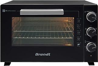 Brandt FC609MUB – Mini four Multifonction – Capacité 60L – 5 positions de cuisson – 2200W – Chaleur tournante – Accessoire...