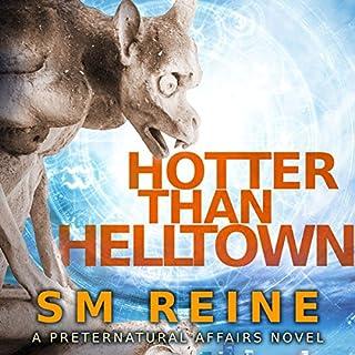Hotter Than Helltown audiobook cover art