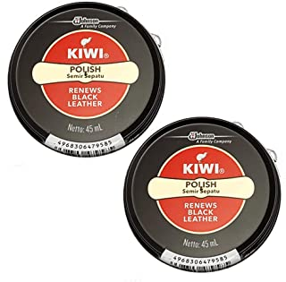 KIWI キウイ 靴クリーム 2個セット 黒2個