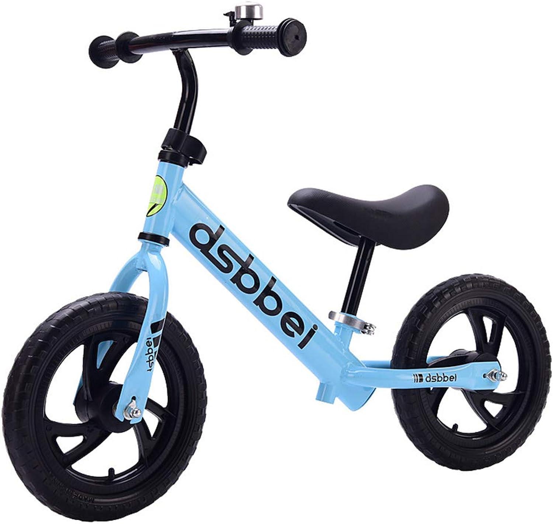 Kids Bike for Girls & Boys, Training Wheels for 12 Bike Kickstand for 12 Inch Bike No Pedal Sport Training Bicycle Adjustable Handlebar and Seat