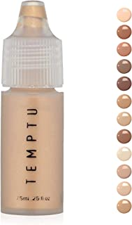 TEMPTU S/B Silicone-Based Airbrush Foundation: Long-Wear Makeup, Buildable Coverage | Healthy, Hydrated Glow | Soft Focus,...