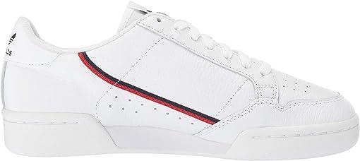 Footwear White/Scarlet/Collegiate Navy