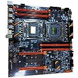 Facibom New X99 Dual Computer Motherboard LGA2011 CPU RECC DDR4 Memory Eating Chicken Game Motherboard