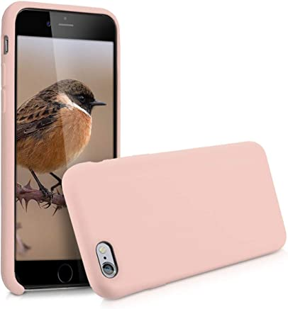 kwmobile Coque Apple iPhone 6 / 6S - Coque pour Apple iPhone 6 / 6S - Housse de téléphone en Silicone Rose Ancien