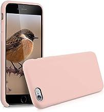 kwmobile Cover compatibile con Apple iPhone 6 / 6S - Custodia in silicone TPU - Back Case protezione cellulare rosa antico