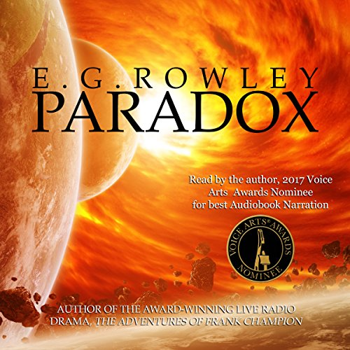 Paradox audiobook cover art
