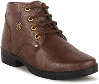 ELITEFEET Best Fit Designer Ultra Comfort Leatherite Casual Ankle Boots for Boys and Kids