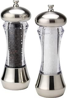 Olde Thompson 5595-00 Sienna Mess-Free Salt & Pepper Mill, 7