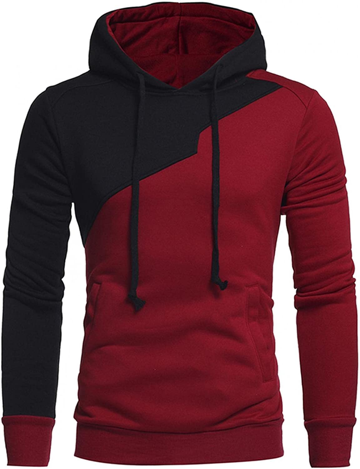 DZQUY Men Standard Sherpa Bombing new work Lined Pullover Big Lon Hoodie and Ranking TOP4 Tall