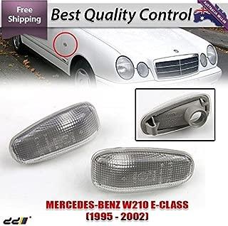[Pair] Side Blinker Light MARKER Turn Signal Lamp Fit For Mercedes Benz W208/W210/R170