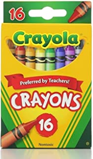 Crayola Classic Color Pack Crayons 16 ea (Pack of 6), 6, 96ct