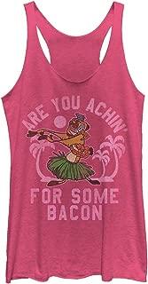 Lion King Women's Timon Achin' for Bacon Racerback Tank Top