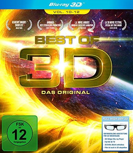 Best of 3D - Das Original - Vol. 10-12 [3D Blu-ray]