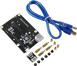 MakerHawk Raspberry Pi X850 mSATA SSD Storage Expansion Board Nueva versión de actualización para Raspberry Pi 3 Modelo B / 2B / B +