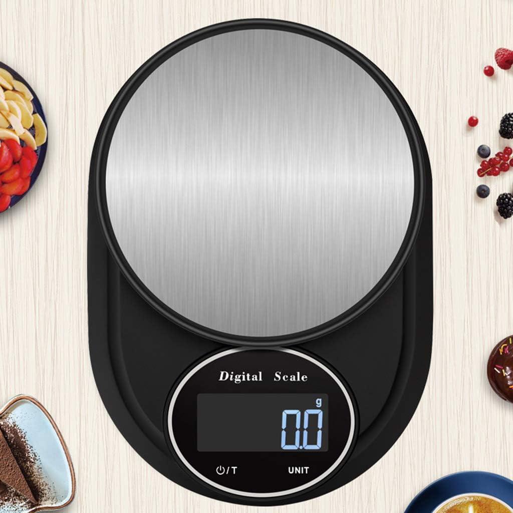 Cocina Delgado Electrónica Digital Báscula Pesaje Balanza Gadget Durable Metal Plataforma Herramientas de Cocina Utilidad Para Usar