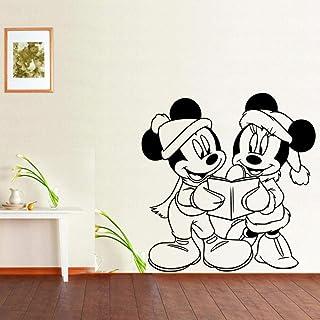 Pegatinas De Pared Pegatinas De Decoración De La Habitación De Los Niños De Mickey Mouse Leyendo