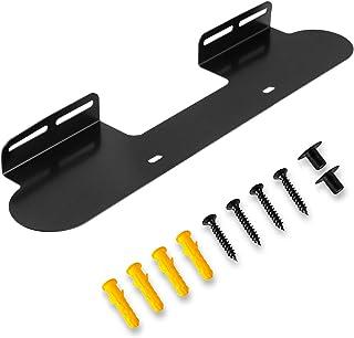 Väggfäste för Sonos Beam Soundbar TV Sound Bar Monteringsfästen inkluderar hårdvarusats lätt att installera – svart
