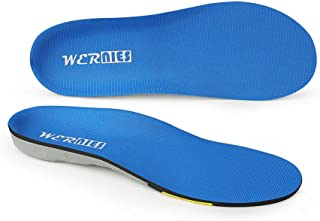 wernies Running Shoe Insoles-Neutral Arch Replacement Sports Shoe Inserts-Comfort and Energy Extra Support for Heavy Duty,...