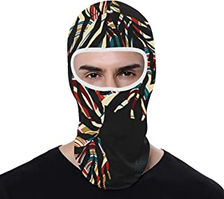 Full Face Mask Cover Zebra UV Protection Summer for Cycling Outdoor Sports Full Face Mask Breathable Good Gift Great Present