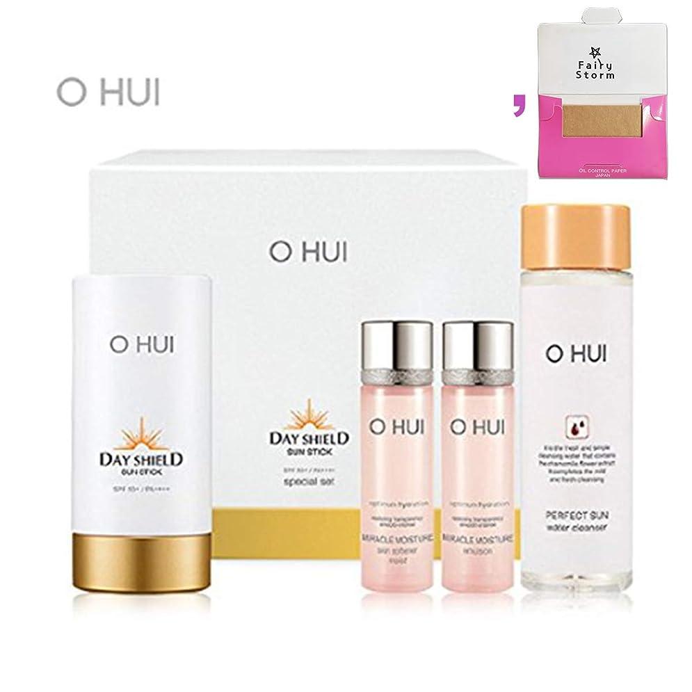 お手入れ脅かすマート[オフィ/ O HUI]韓国化粧品 LG生活健康/Ohui Daily Shield Sunstick Special Set/ デイリーシールドシルクスティック スペシャルセット[SPF50+/PA++++] 30g +[Sample Gift](海外直送品)