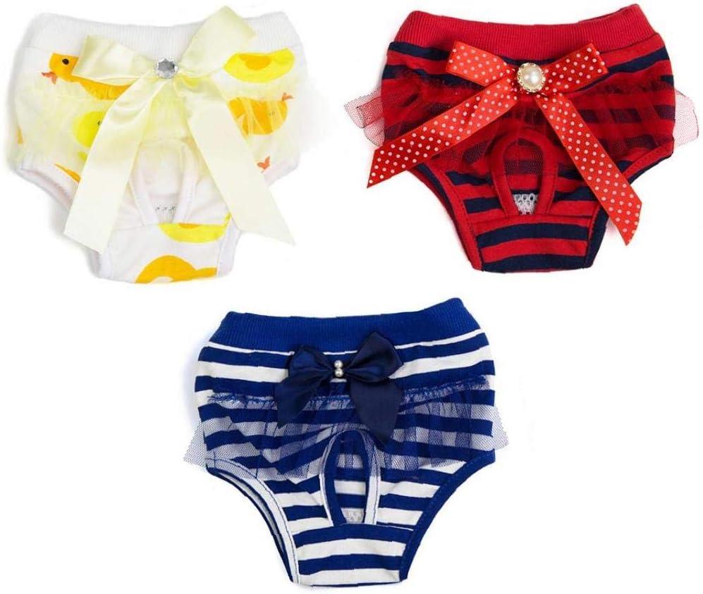 EElabper Female New arrival Dog High material Diaper Sanitary Nappies Pants Underwear
