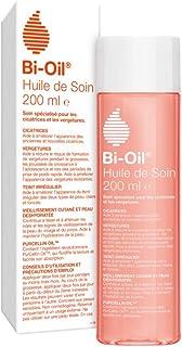 Bi-Oil Huile de Soin pour la Peau – Huile Hydratante, Atténue les Cicatrices et Vergetures – 1 x 200 ml