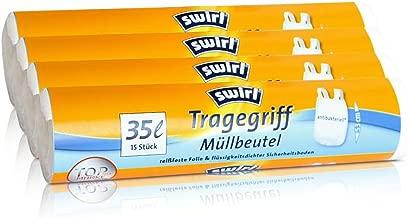 40 stk.//Rolle 5x Swirl Tragegriff Müllbeutel 5L