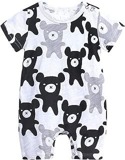 Odziezet Baby Cotton Romper Newborn Cartoon Rabbit Ear Jumpsuit Bodysuit Spring Clothes 0-18 Months