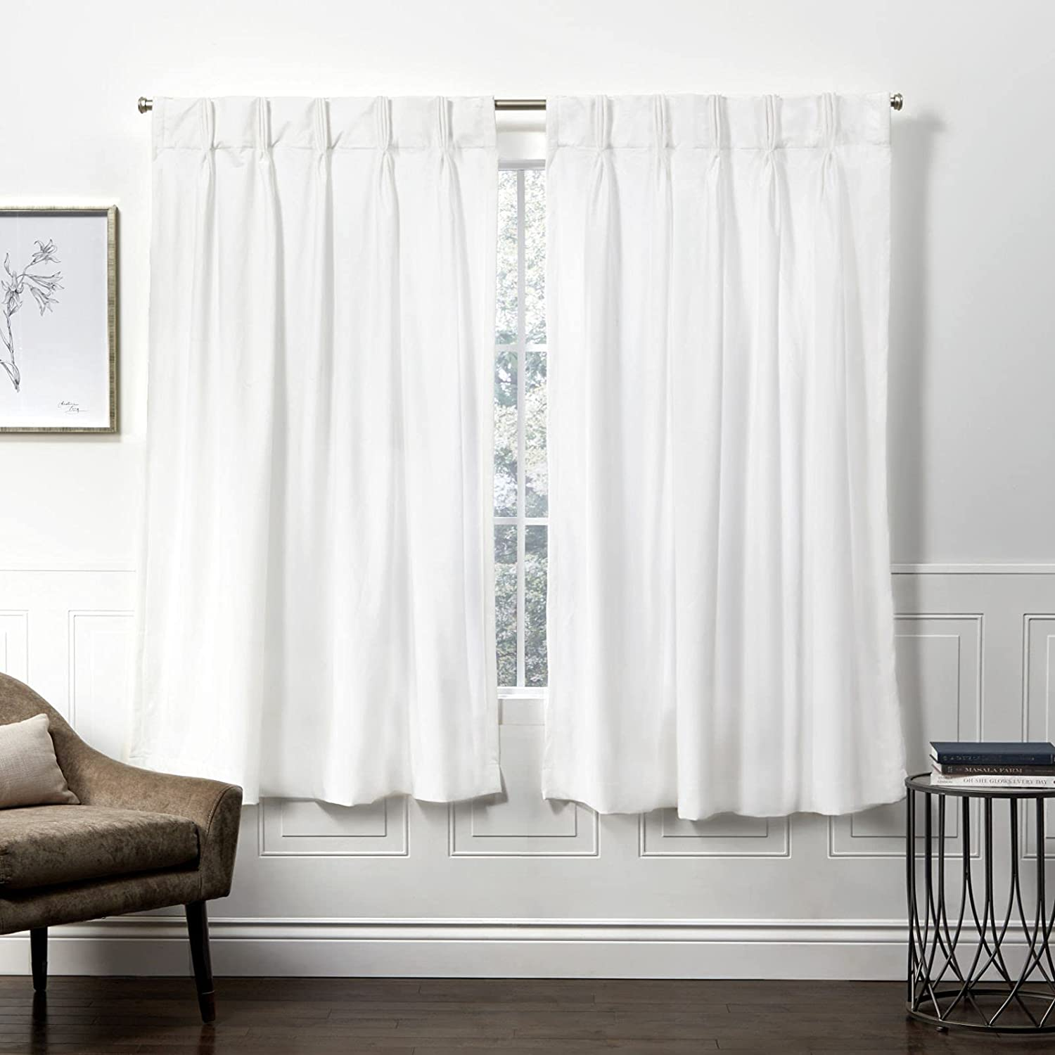 Exclusive Home Curtains Velvet Ranking TOP18 Pinch Year-end annual account Panel 52x63 Curtain Pleat