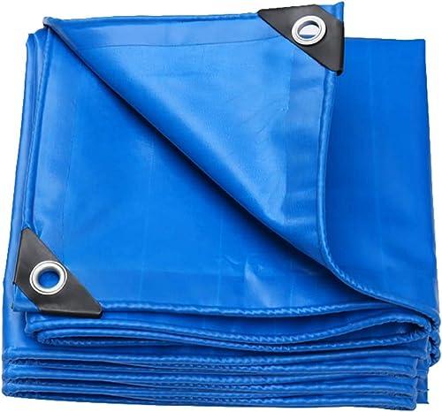 Bache Grande imperméable, Se Pliantes de PVC, Couverture de remorque de Tente de Camping de Plein air, 550G   M2 (Taille   5x6m)