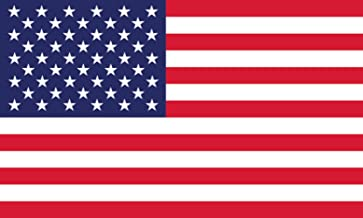American Flag Decal Window Clings - Vinyl Car Decals - Non Adhesive Stickers (3