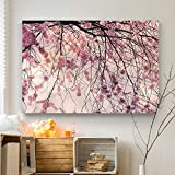 WALL ART SIZE: Landscape 32 X 48 inch (81. 28 X 121. 92 cm). Great wall décor for your home, office, living room, bedroom, study, library etc. Perfect gift idea for everybody. Each piece comes fully assembled and ready to hang 1. 50 inch hihg quality...