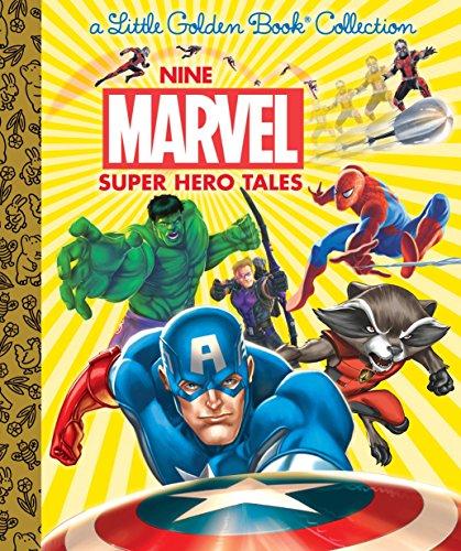 Nine Marvel Super Hero Tales