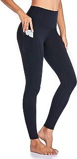 comprar comparacion Occffy Leggings Mujer Deporte Cintura Alta Mallas Pantalones Deportivos Leggins con Bolsillos para Yoga Running Fitness y ...