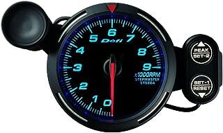 Defi DF12001 Racer Tachometer, 9000 RPM, Blue, 80mm