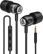 LUDOS Clamor Wired Earbuds in Ear Headphones with Microphone, Earphones with Mic and..