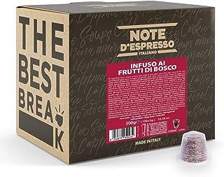 Note d'Espresso - Fruits Rouges - Capsules d'Infusion - Exclusivement Compatible avec Machine NESPRESSO* - 100 x 3 g