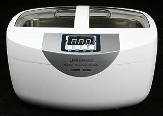 Industrial Grade 160 Watts 2.5 Liters Digital Heated Ultrasonic Cleaner