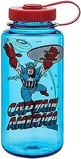 b4a0cc0302 Nalgene Tritan 32oz Marvel Water Bottle (Captain America in Action)