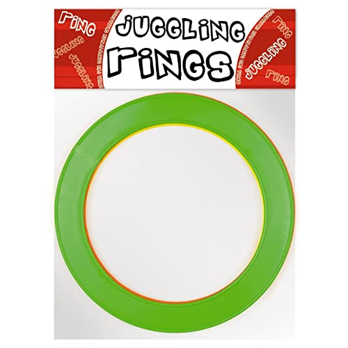 + 1x Flames N Games Travel Bag per order *PRICE IS PER RING. Mr Babache Pro Juggling Rings Top Quality Rings For Juggling Ideal For All Ages /& Levels of Skill Small-24cm