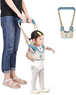 Accmor Baby Walking Harness Handheld Baby Walker, Adjustable Toddler Walking Assistant Walking Helper for Infant Child, Breathable Stand Up and Walking Learning Helper for Boys Girls