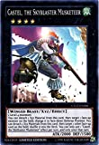 YU-GI-OH! - Castel, The Skyblaster Musketeer (CT12-EN006) - 2015 Mega-Tin Exclusives - Limited Edition - Super Rare