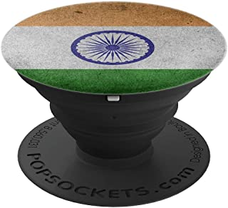India Flag, Indian people gift idea - PopSockets Grip and Stand for Phones and Tablets